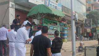 حملة مكبرة لجهاز مدينة السادات على الوحدات السكنية والمحال والبدرومات المخالفة