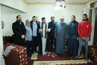 حسن راتب : فخور بإحياء ذكرى مولد الإمام الحسين من داخل شقة الشعراوي