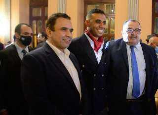 مدحت بركات يشيد بتجربة القاهرة 24 خلال احتفاليتها: مملوك صحفي شاطر وحقق طفرة بالموقع (صور)